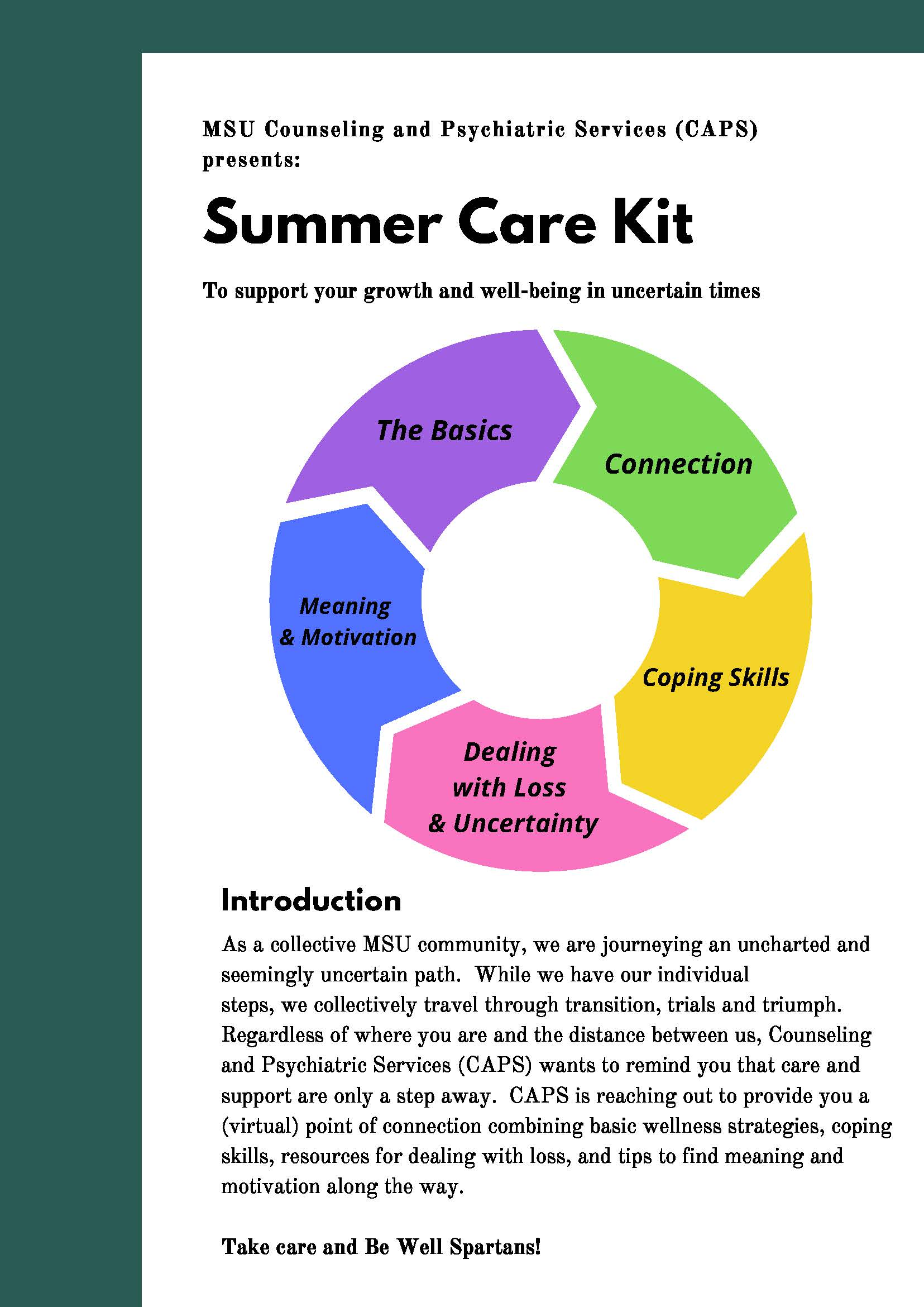 Taking Care of your Self This Summer: A Care Kit for You